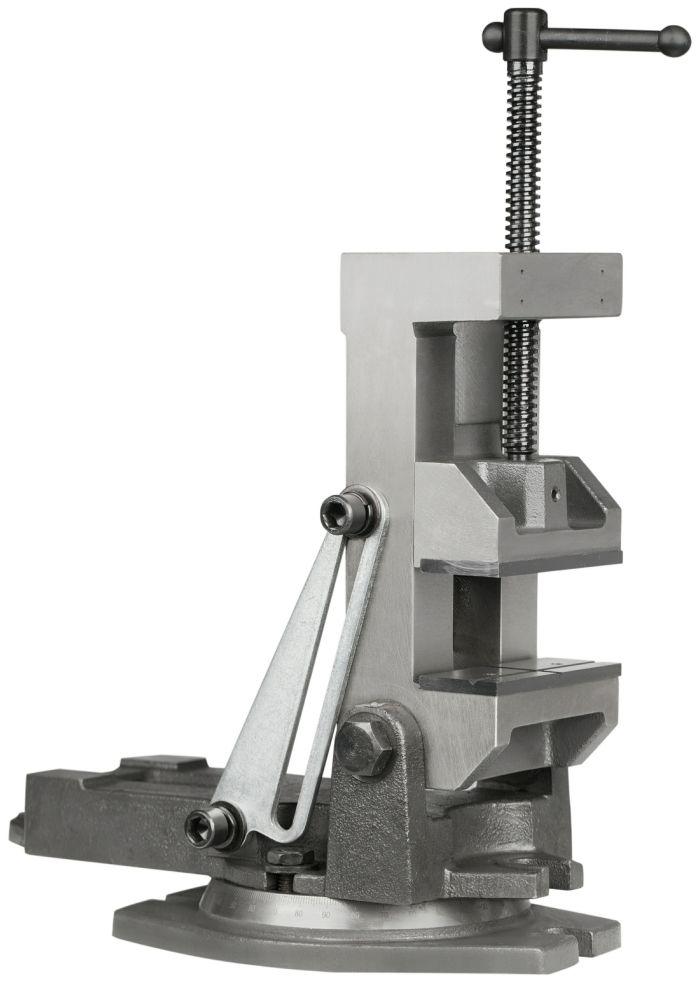 Přesný strojní svěrák otočný naklápěcí 160mm